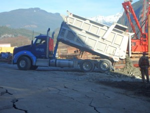 1. Delivery of Shoreline Protection Rock