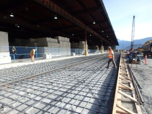 Photo 1 - Apron Slab Preparation