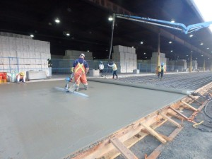Photo 1 - Pouring new warehouse apron slab