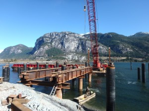 Photo 1 - Removal of Trestle No. 2