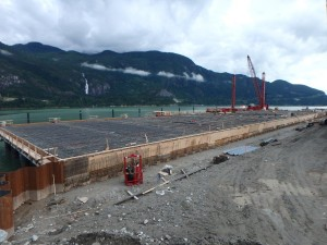 Photo 1 - Wharf Progress viewed from the north