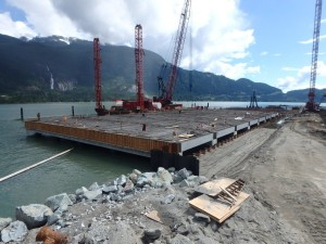 Photo 3 - Precast deck unit progress