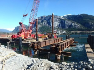 Photo 3 - Removing Trestle No. 1