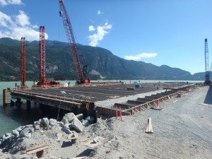 Photo 5 - Wharf Progress Viewed From The North