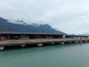 Photo 5 - Wharf Progress from Offshore