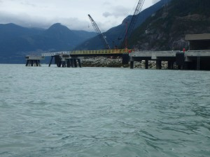 Photo 6 - Gangway Landing Span and Platform, and South Mooring Dolphin